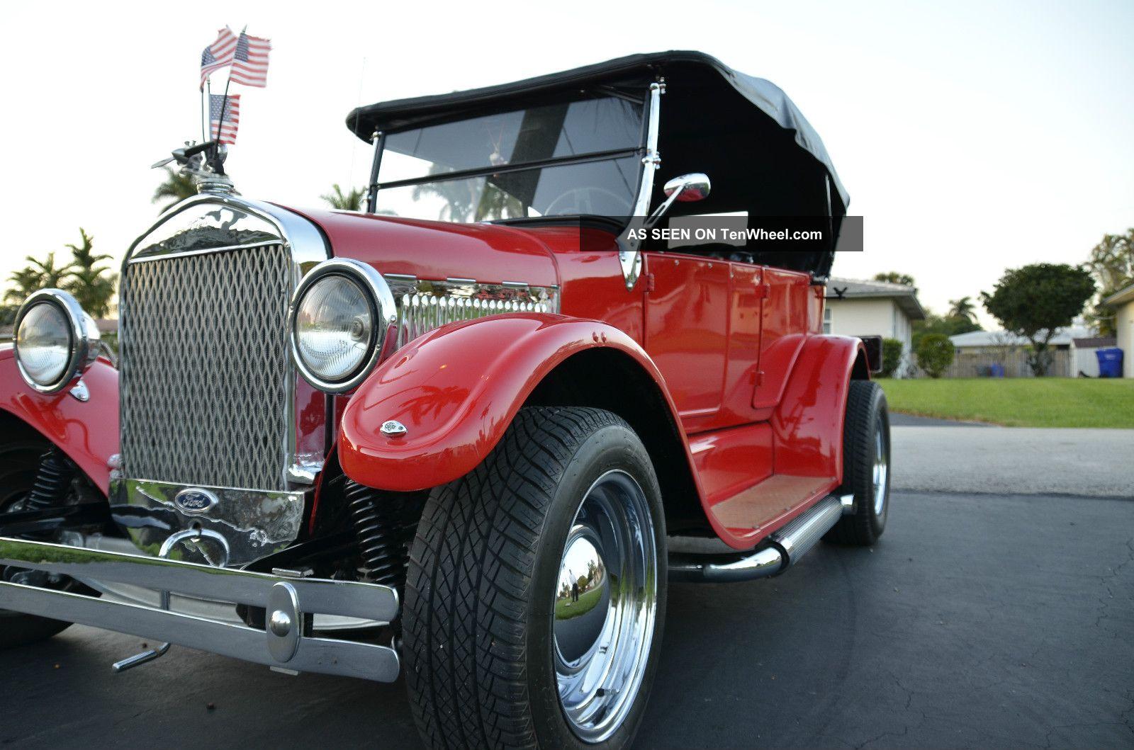 1927 ford model t touring sedan convertible for 1927 ford model t 4 door sedan