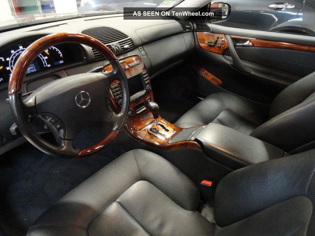 Mercedes Benz Cl500 Interior 2005 Mercedes Benz Cl500