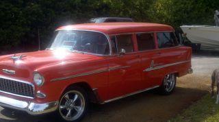 1955 Chevy Bel Air Wagon 4 Door photo