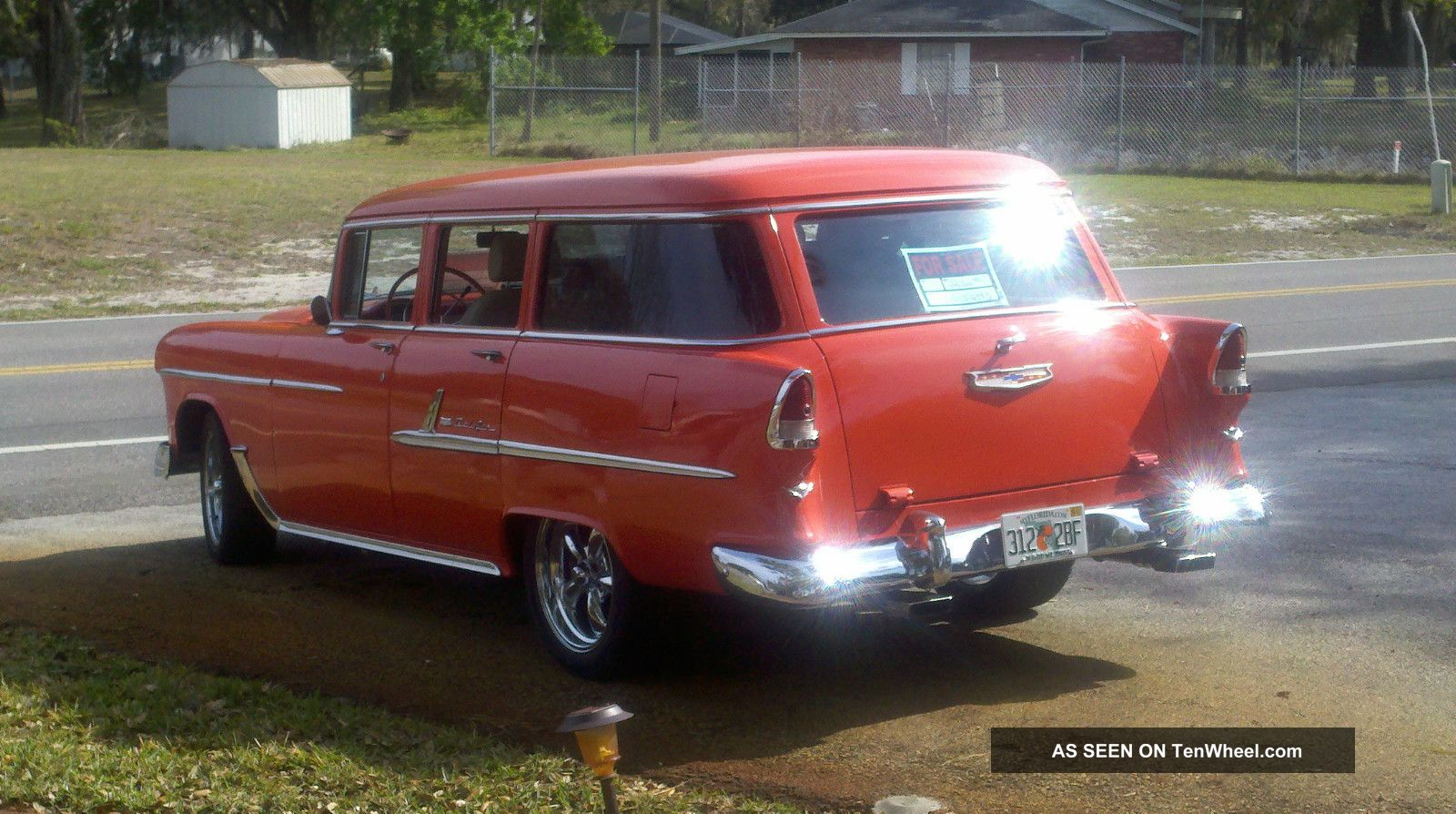 1955 chevy bel air wagon 4 door