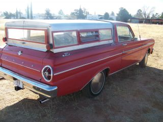 1965 Red Ford Falcon Ranchero photo