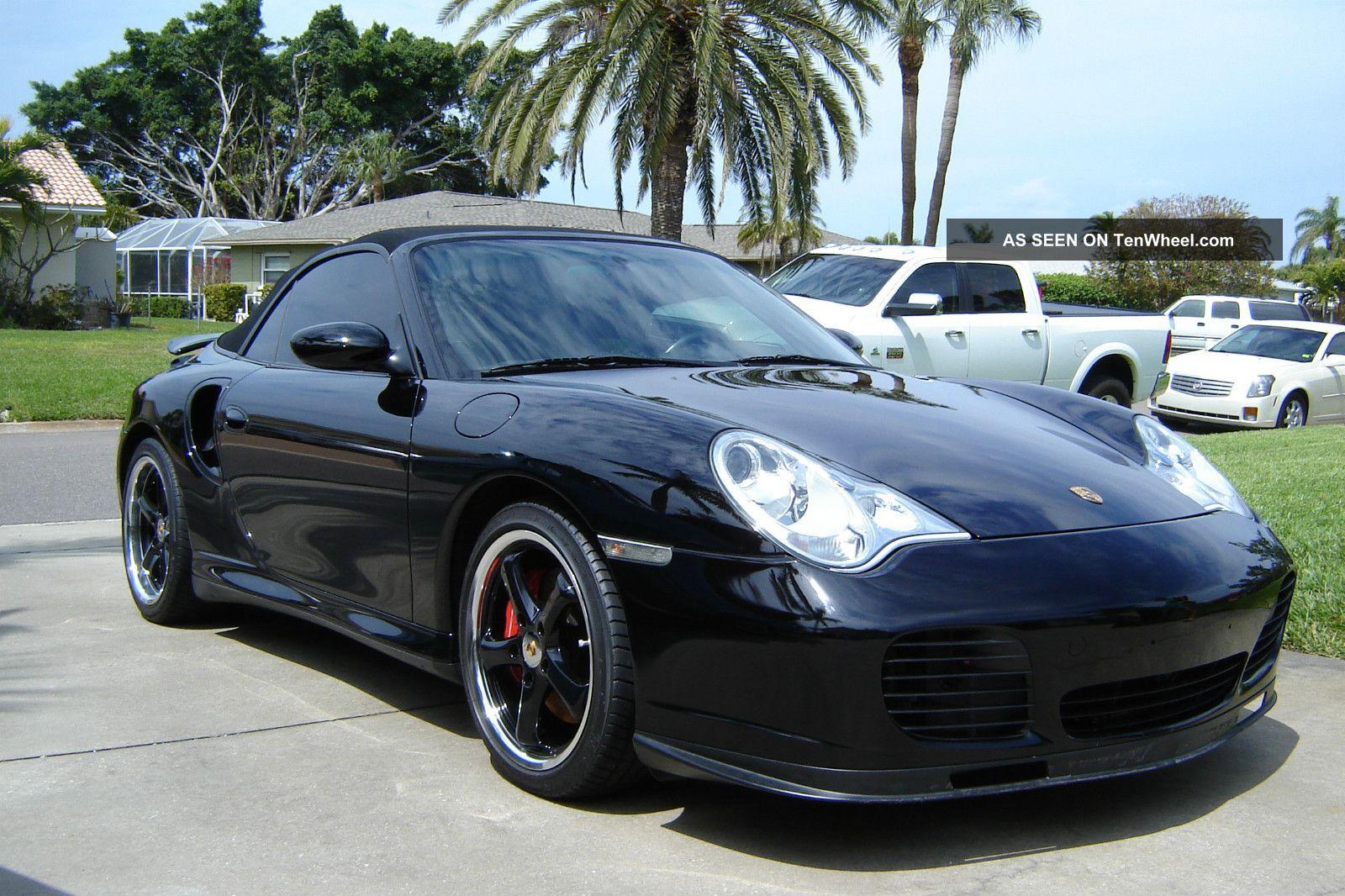 2004 Porsche 911 Turbo Cab 6 Speed