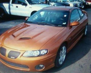 2006 Pontiac Gto Brazin Orange photo