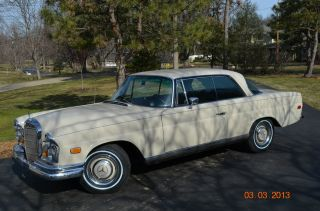 1968 Mercedes 250se Automatic - Great Classic Mercedes Coupe photo