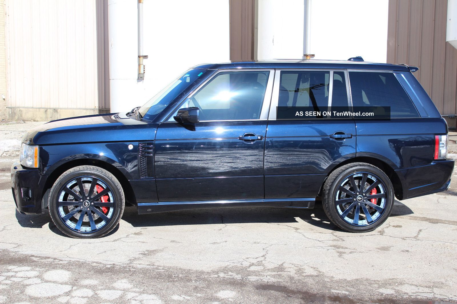 2008 range rover supercharged immaculate full overfinch kit. Black Bedroom Furniture Sets. Home Design Ideas