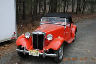 1951 Mg Td All Runs And Drives Great photo