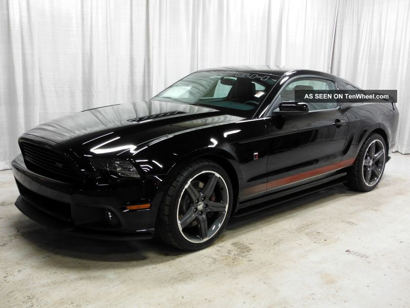 2014 Ford Mustang Gt Roush Stage 2 Track Package