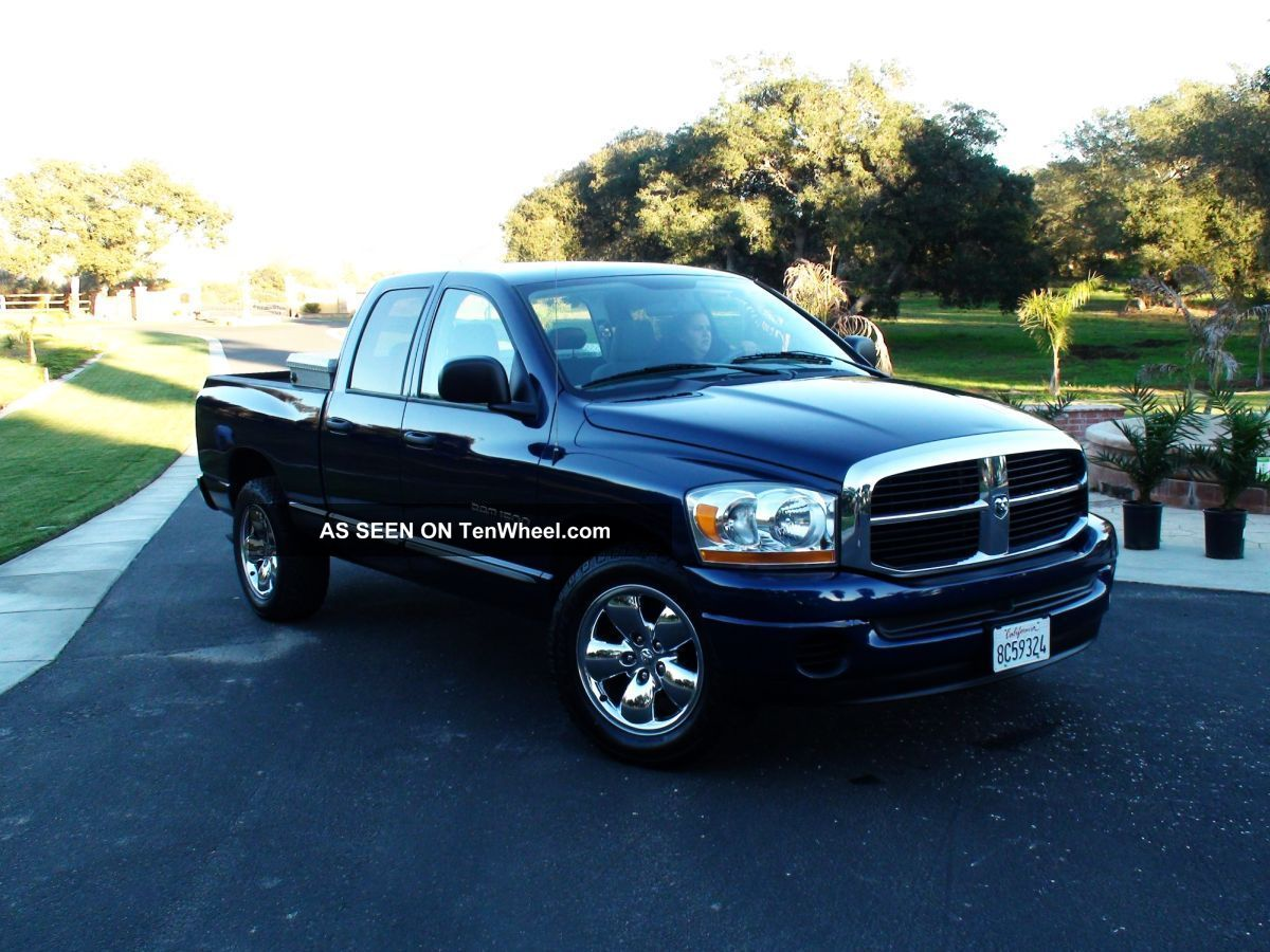 2006 dodge ram 1500 slt crew cab 4 7l v8 ram 1500 photo. Black Bedroom Furniture Sets. Home Design Ideas