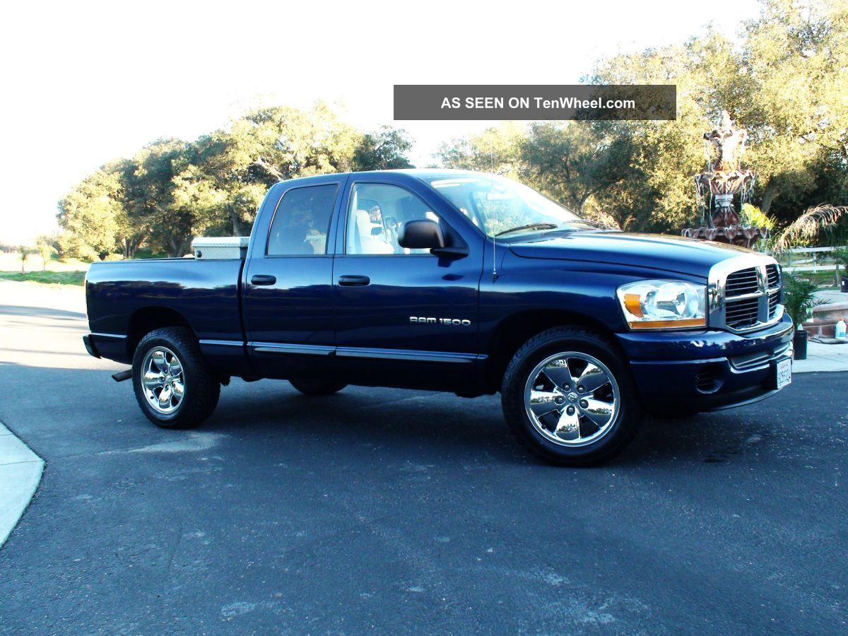 2006 dodge ram 1500 slt crew cab 4 7l v8. Black Bedroom Furniture Sets. Home Design Ideas