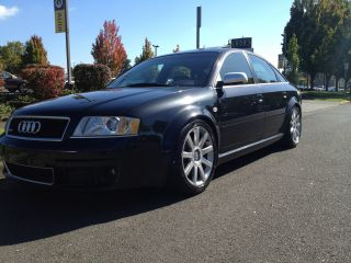 2003 Audi Rs6 Black Pearl On Black Se Exhaust Coil Overs 2nd Owner Lots photo