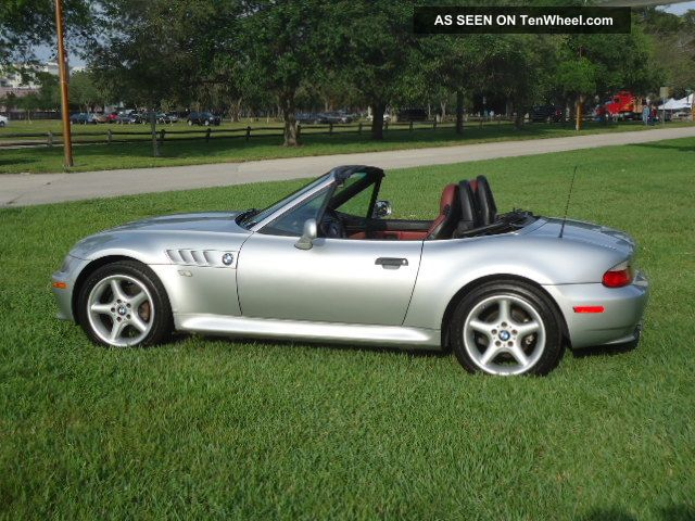 2000 Bmw Z3 Roadster Convertible 2 Door 2 5l