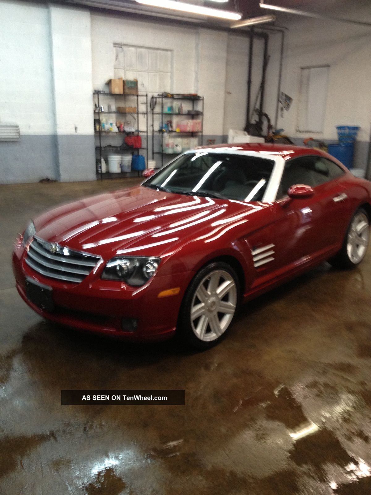 2004 Chrysler Crossfire Base Coupe 2 Door 3. 2l Crossfire photo #69392C