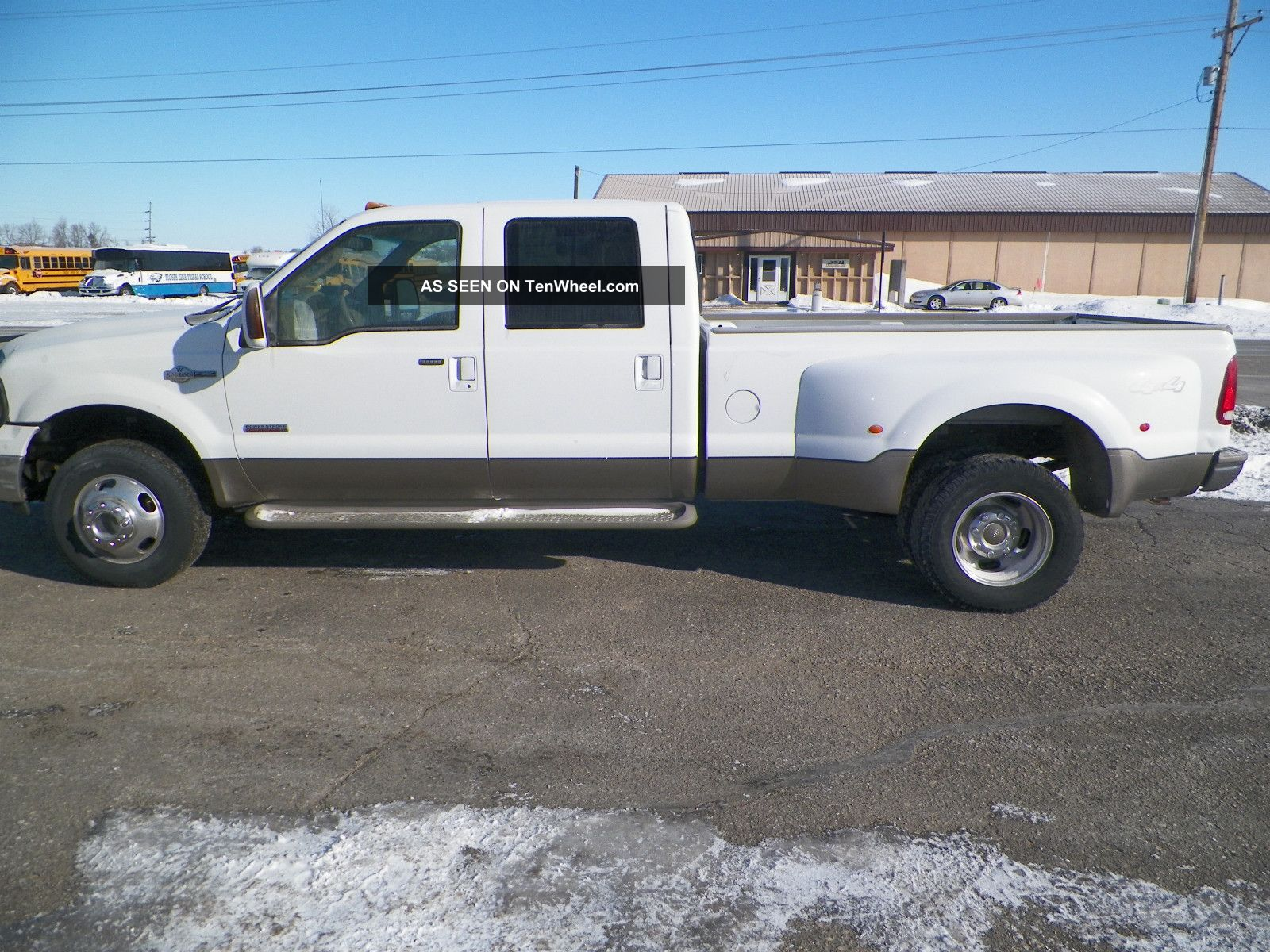 2006 ford f 350 duty king ranch crew cab pickup 4 door. Black Bedroom Furniture Sets. Home Design Ideas