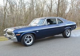 1970 Nova327 With Yenko Trim Indigo Blue Paint. .  Nova photo