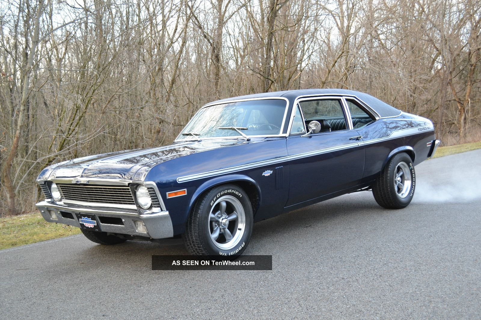 1970 Nova327 With Yenko Trim Indigo Blue Paint Nova