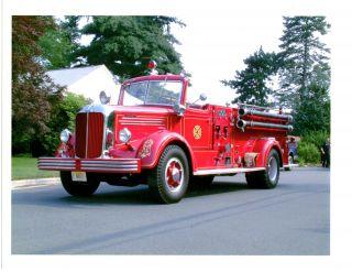 1947 Mack Pumper Fire Truck photo