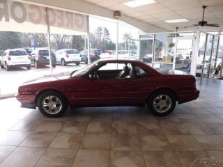 1993 Cadillac Allante Base Convertible 2 - Door 4.  6l photo