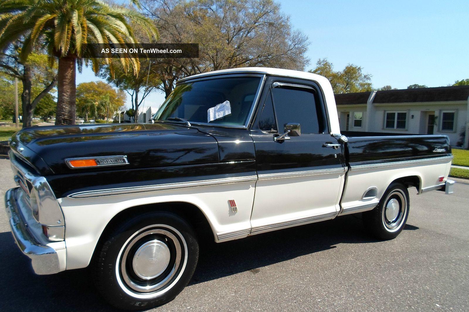 1969 ford ranger pickup pick up truck big block f100 f150. Black Bedroom Furniture Sets. Home Design Ideas