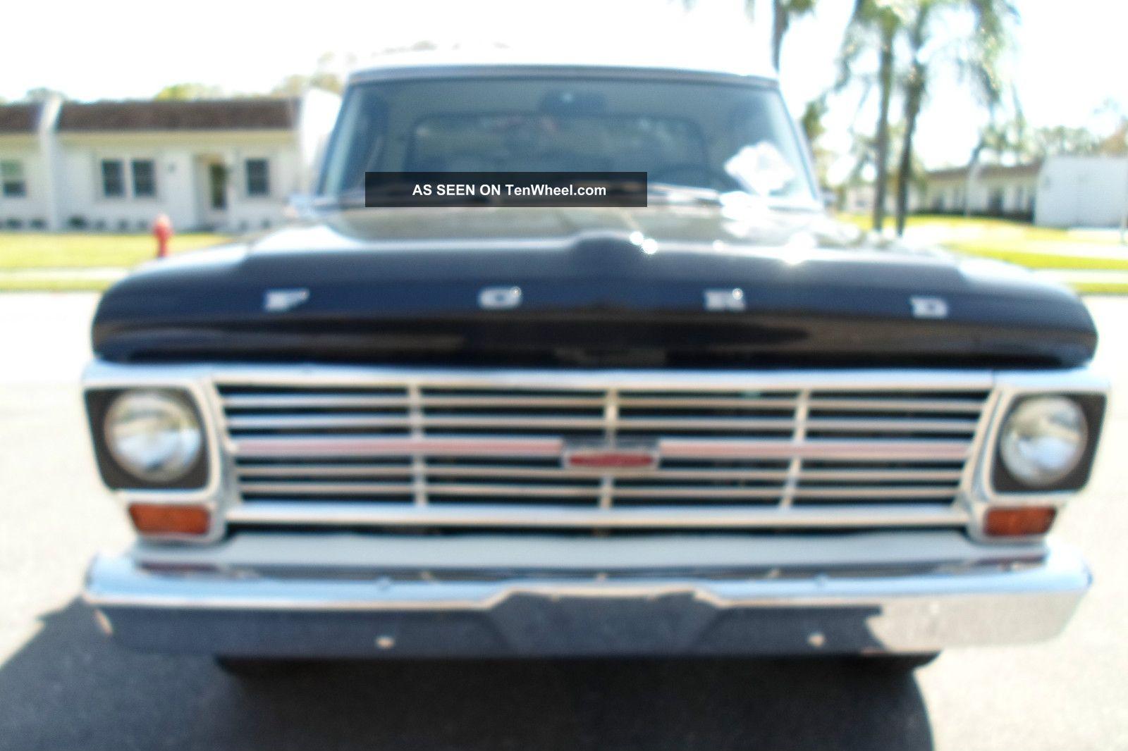1969 Ford Ranger Pickup Pick Up Truck Big Block F100 F150 F250 F350 302 Engine