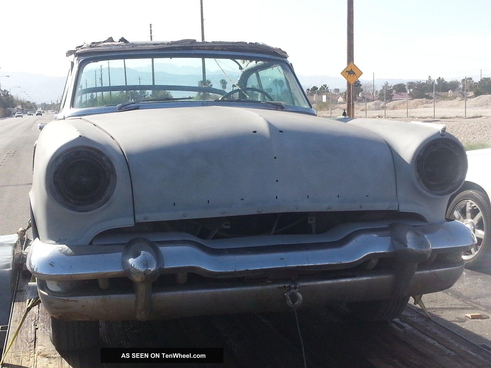 1952 Lincoln Capri Convertible Classic Hot Rod Rat Rod Drop Top 2 Door Project Other photo
