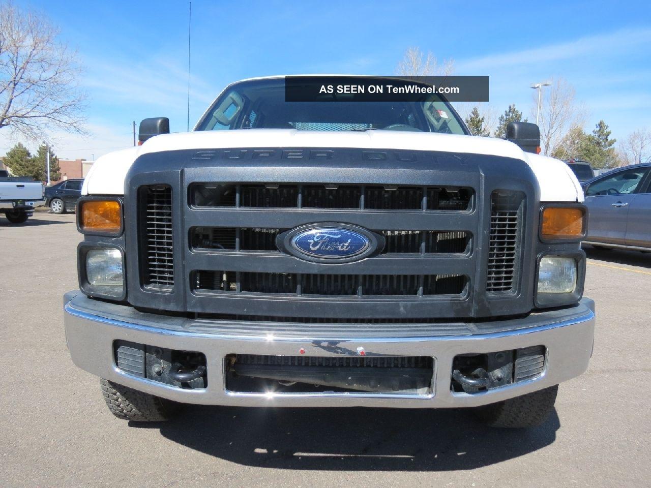 2008 ford f 350 crew cab 4x4 flatbed diesel 4x4 fleet all power runs gr8. Black Bedroom Furniture Sets. Home Design Ideas