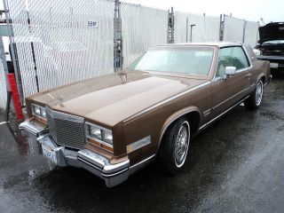1981 Cadillac El Dorado, photo