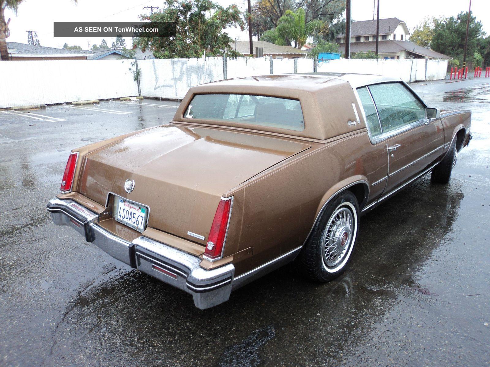 1981 Cadillac El Dorado