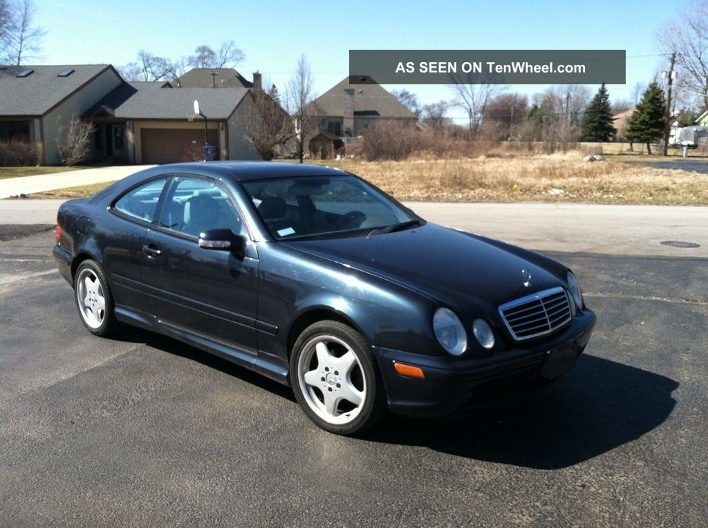 2002 mercedes benz clk430 base coupe 2 door 4 3l for Mercedes benz clk 2002