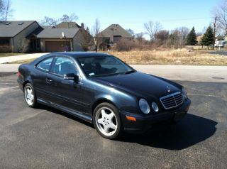 2002 Mercedes - Benz Clk430 Base Coupe 2 - Door 4.  3l photo