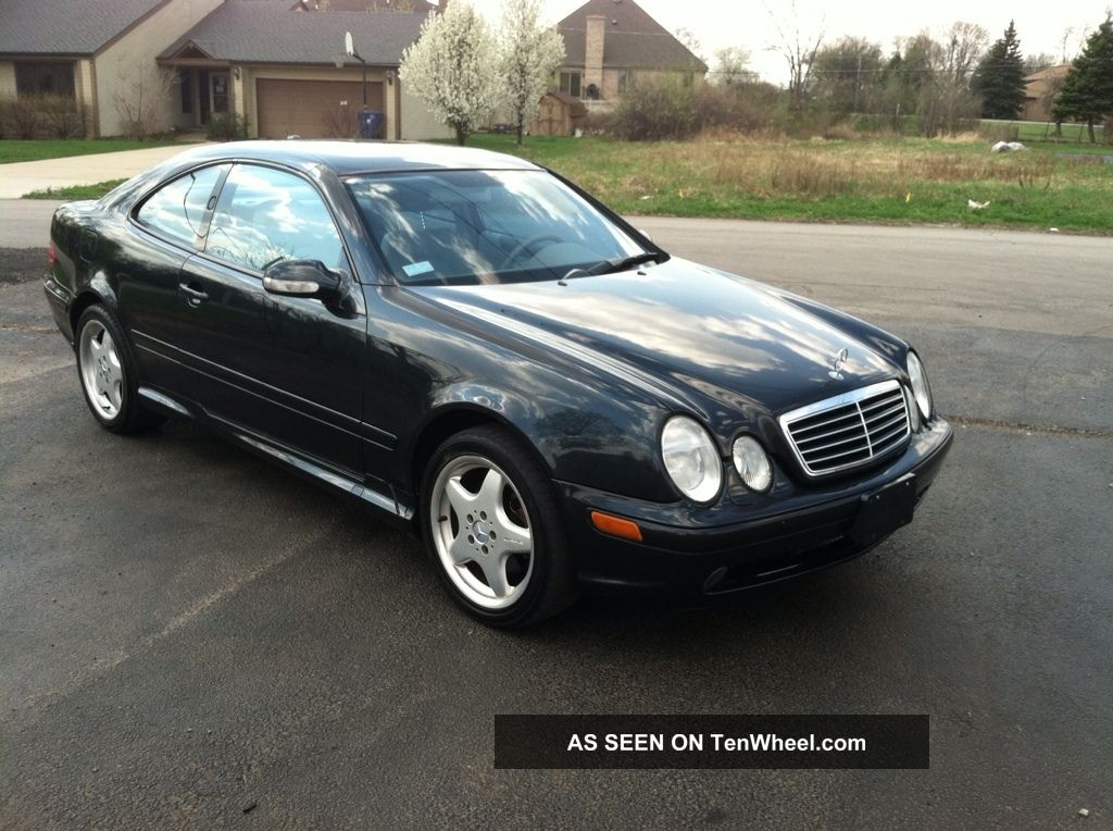 2002 mercedes benz clk430 base coupe 2 door 4 3l. Black Bedroom Furniture Sets. Home Design Ideas