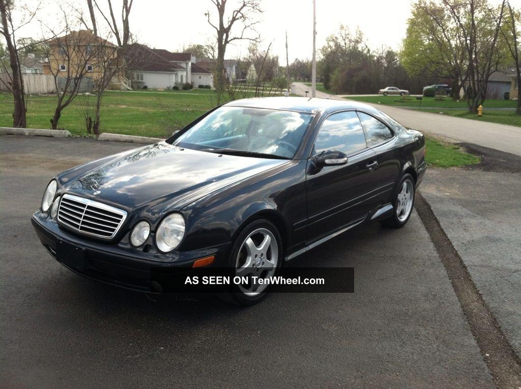 2002 mercedes benz clk430 base coupe 2 door 4 3l for Mercedes benz clk430