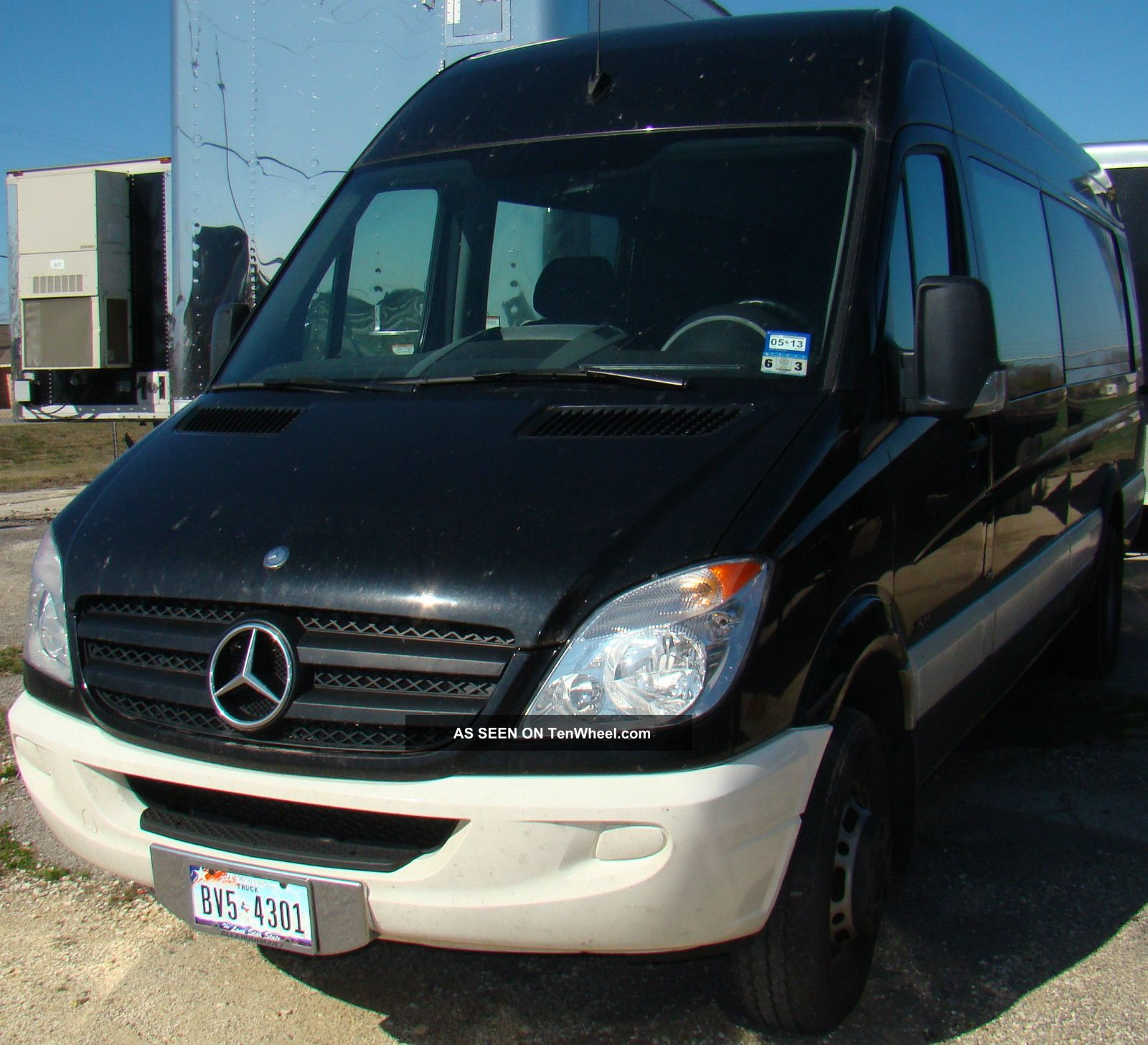2012 mercedes benz sprinter 3500 cargo van 3 0l dually for Mercedes benz 3500 sprinter