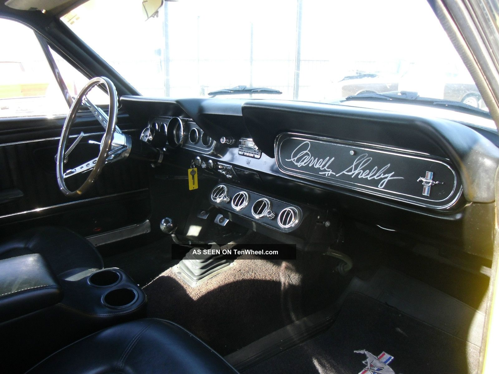 1966 Ford Mustang Fastback 350 Gt Tribute - A Code V8, Manual - C. Shelby  Signed @