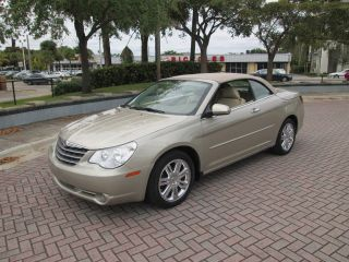 2008 Chrysler Sebring Limited Convertible Fla Car photo