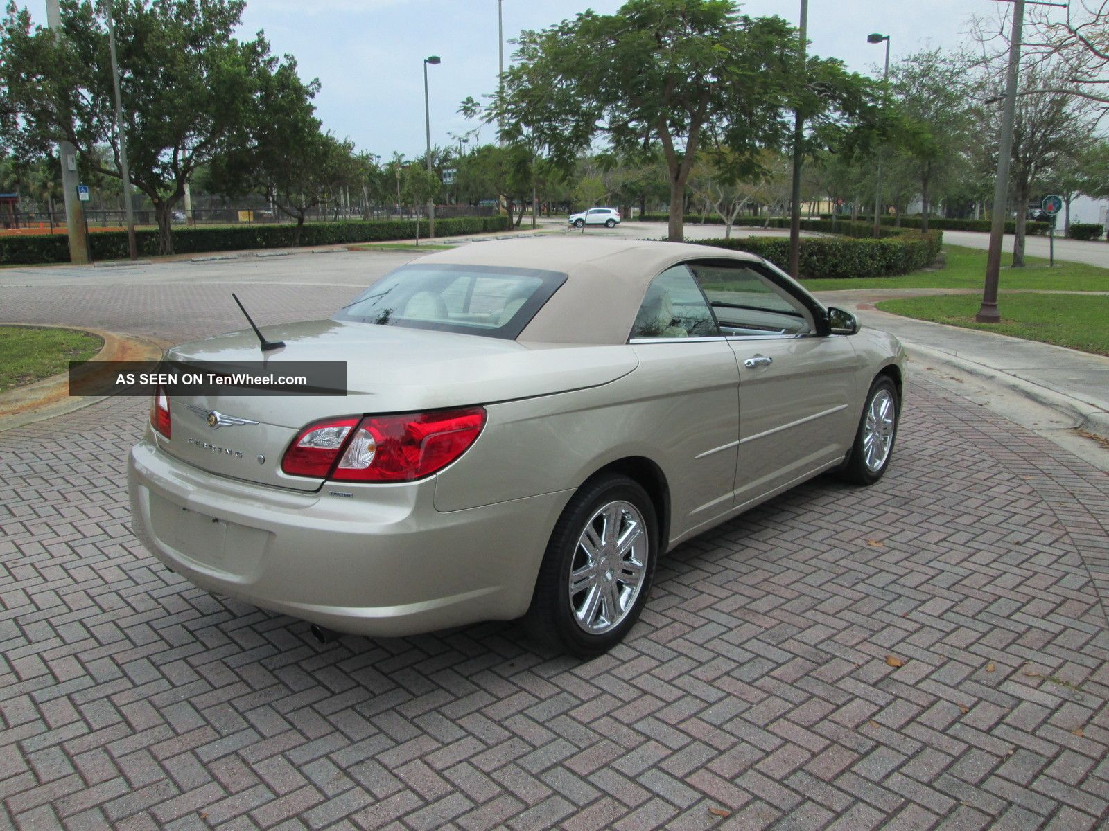 2008 Chrysler Sebring Limited Convertible Fla Car