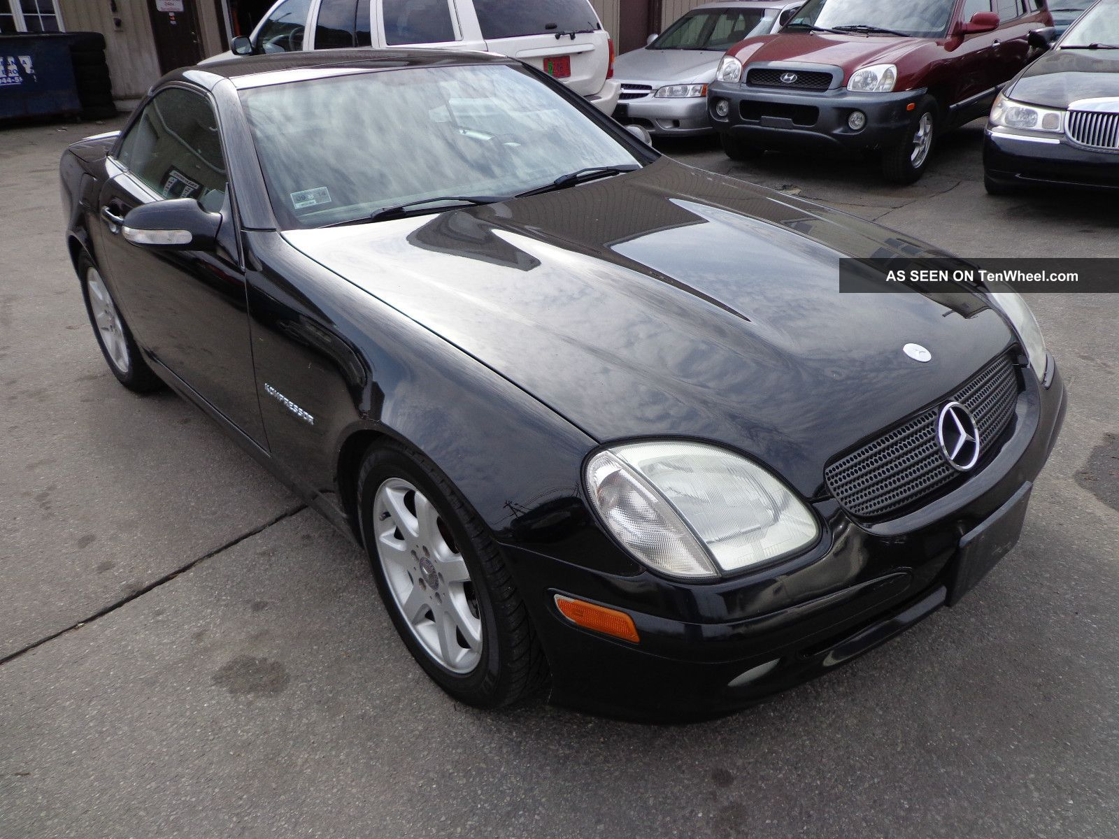 2001 mercedes benz slk230 kompressor hard top for Mercedes benz slk230