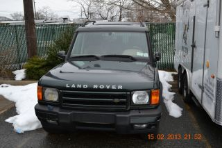 2001 Land Rover Discovery Series Ii Se Sport Utility 4 - Door 4.  0l photo