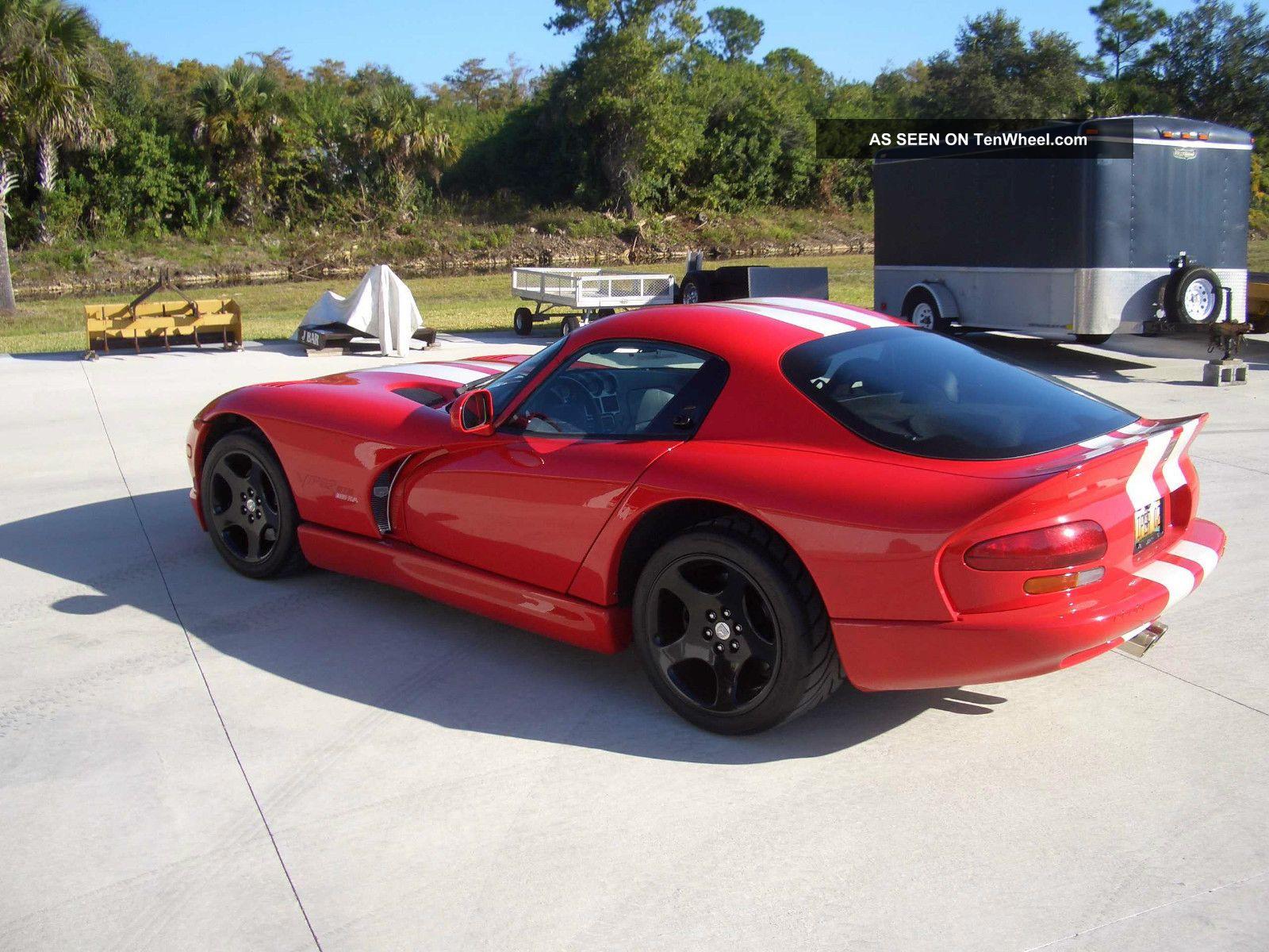 2002 Dodge Viper Gts Final Edition Belanger Headers,  Corsa Exhaust Viper photo