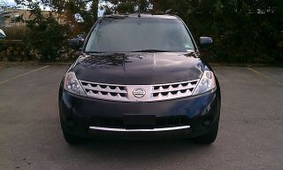 2006 Nissan Murano Awd Black On Black W / Remote Start photo