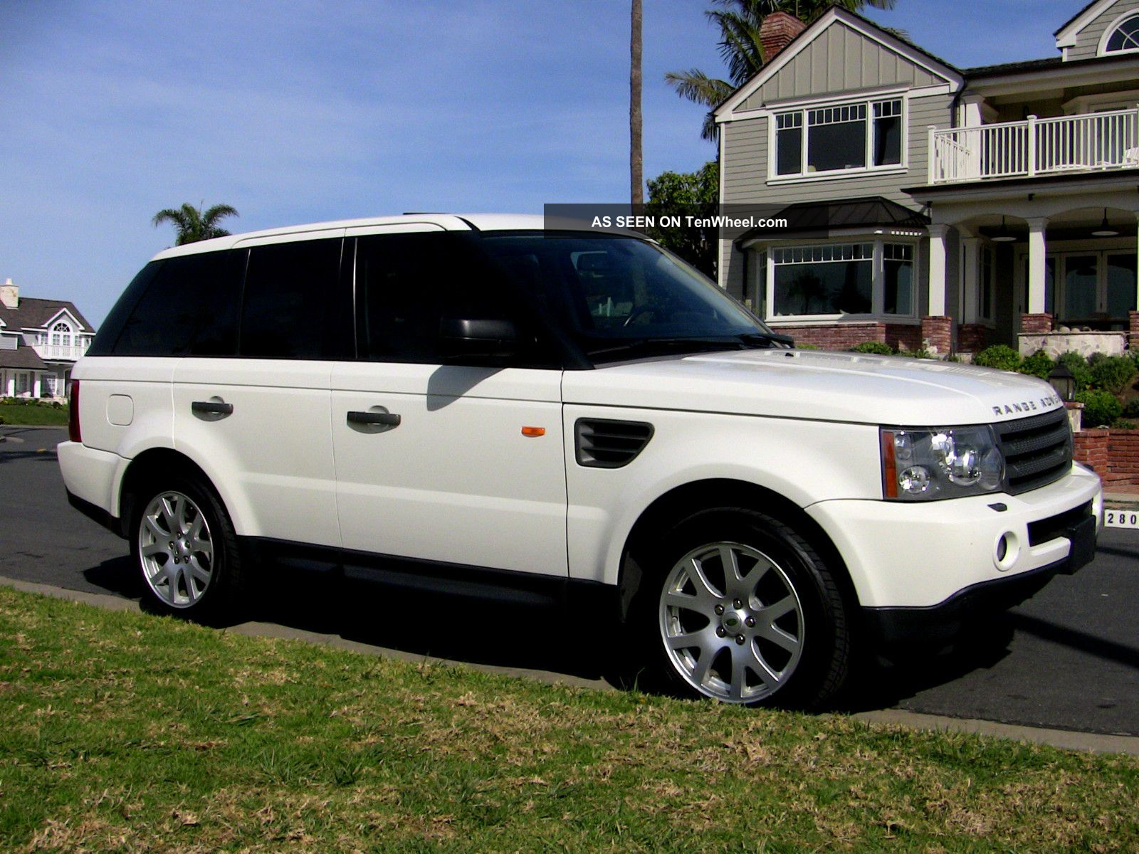 2008 land rover range rover sport hse sport utility 4. Black Bedroom Furniture Sets. Home Design Ideas