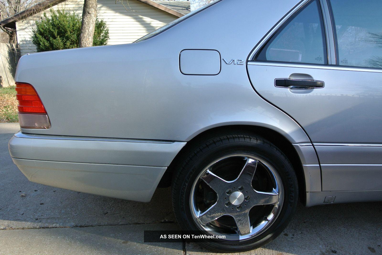1995 Mercedes - Benz S600 Base Sedan 4 - Door 6.  0l S-Class photo