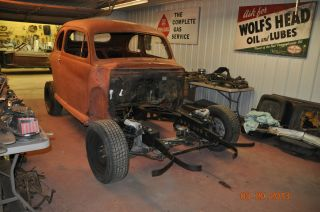 1946 Ford 5 Window Coupe Rat Rod Project Hot Rod 1946 46 47 48 photo