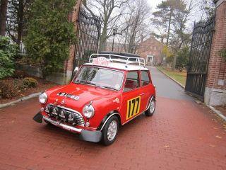 1973 Mini Cooper Rally Car Replica photo