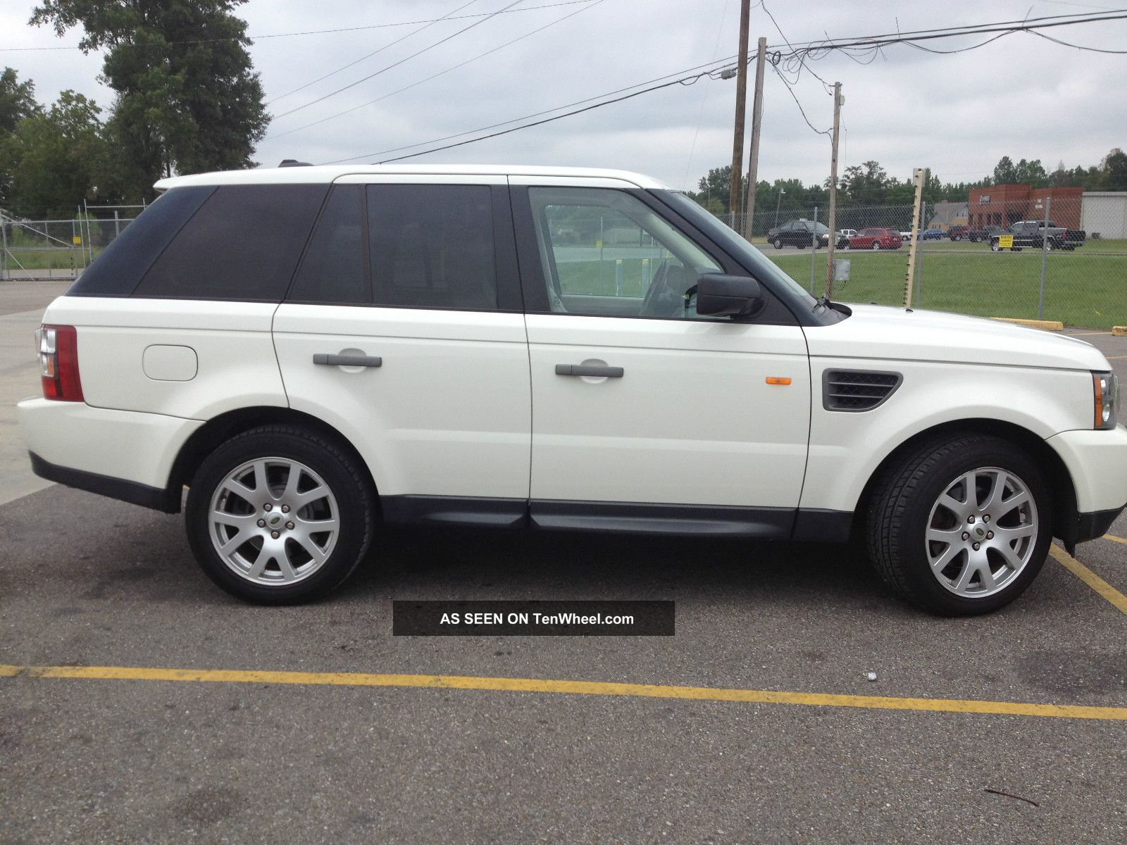 2008 white range rover sport. Black Bedroom Furniture Sets. Home Design Ideas