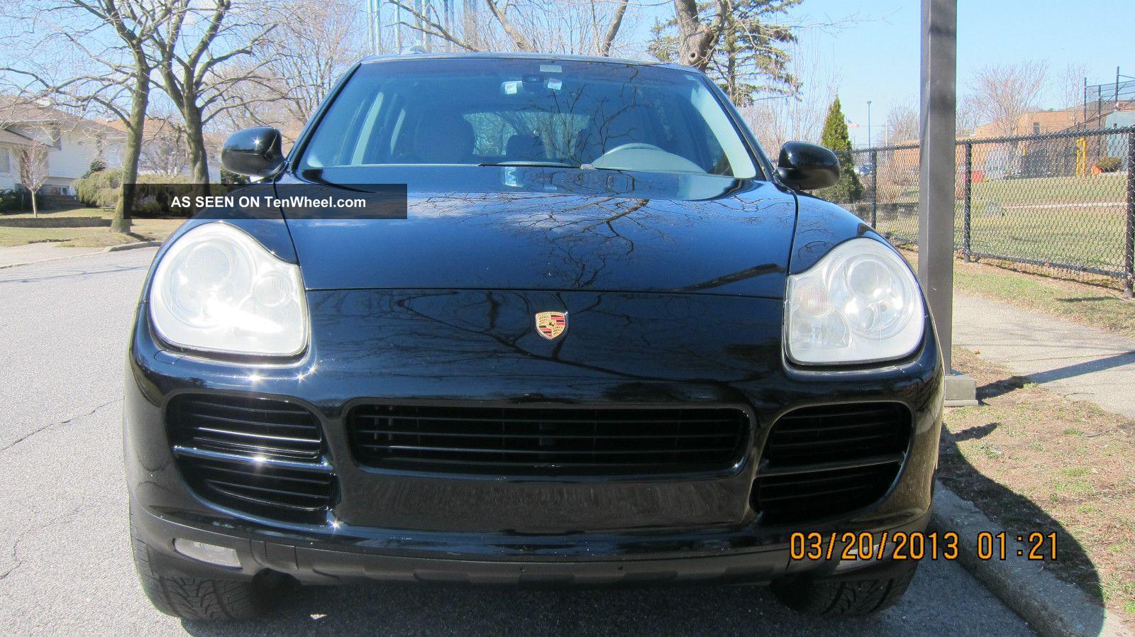 2004 Porsche Cayenne S Sport Utility 4 Door 4 5l