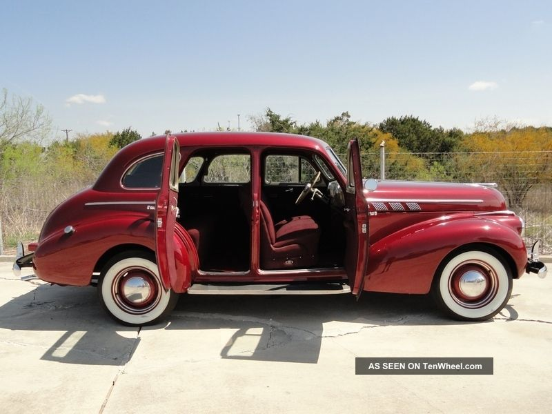 & 1940 Pontiac 4 Door Sedan - - Suicide Doors