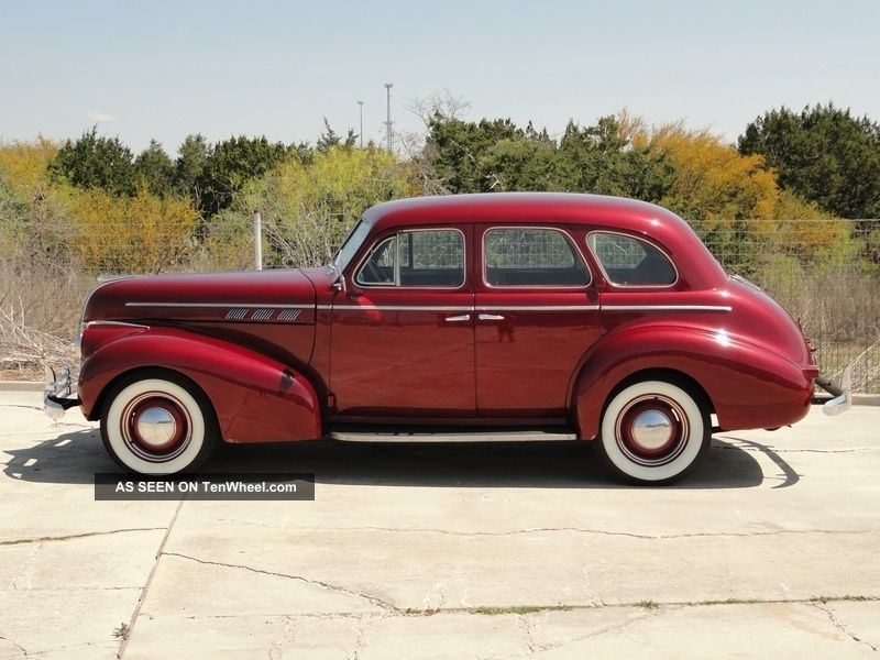 1940 pontiac 4 door sedan suicide doors