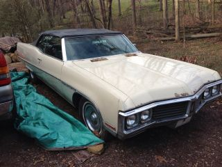 1970 Buick Electra 225 Convertible Find Needs Restore Runs 455 photo