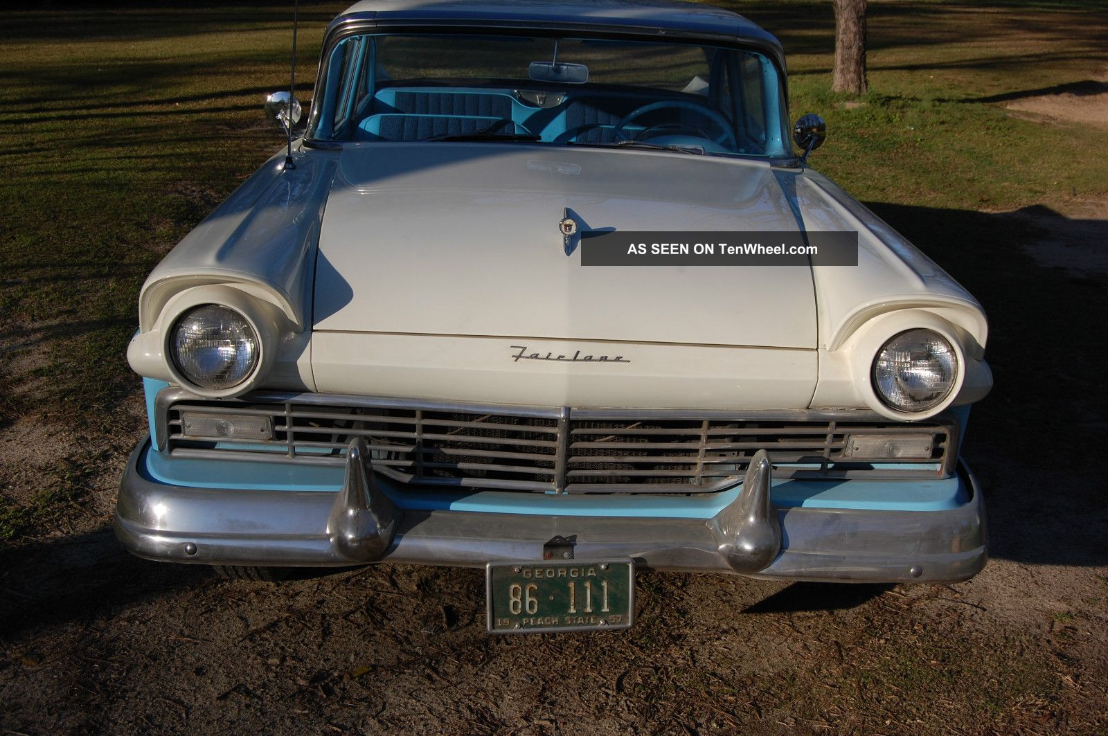 1957 ford fairlane 2 door coupe for 1957 ford 2 door