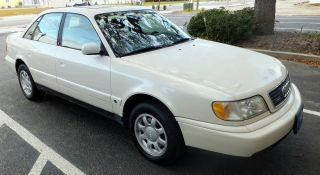 1995 Audi A6 Quattro Base Sedan 4 - Door 2.  8l photo